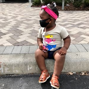 Accessories - COPY - New Reusable Black Mask (Children Toddler …